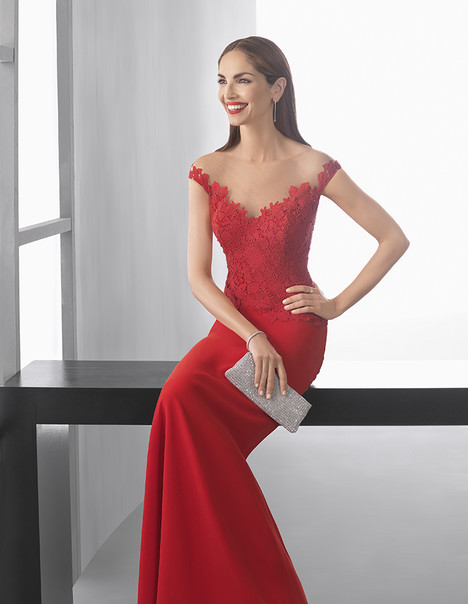 1T267 gown from the 2017 Rosa Clara: Cocktail collection, as seen on dressfinder.ca