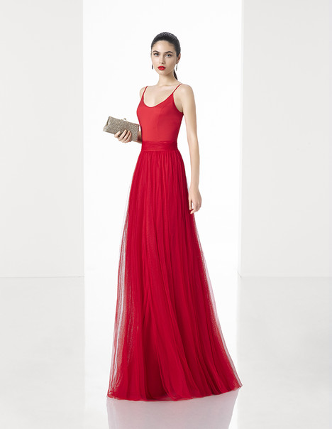 1T397 gown from the 2017 Rosa Clara: Cocktail collection, as seen on dressfinder.ca