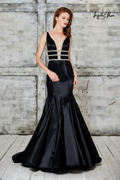 771103 (black) gown from the 2017 Angela & Alison Prom collection, as seen on dressfinder.ca