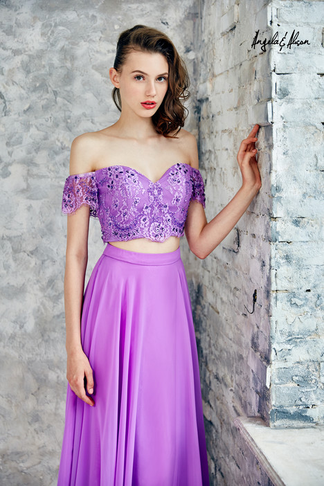 771104 (light lilac) gown from the 2017 Angela & Alison Prom collection, as seen on dressfinder.ca