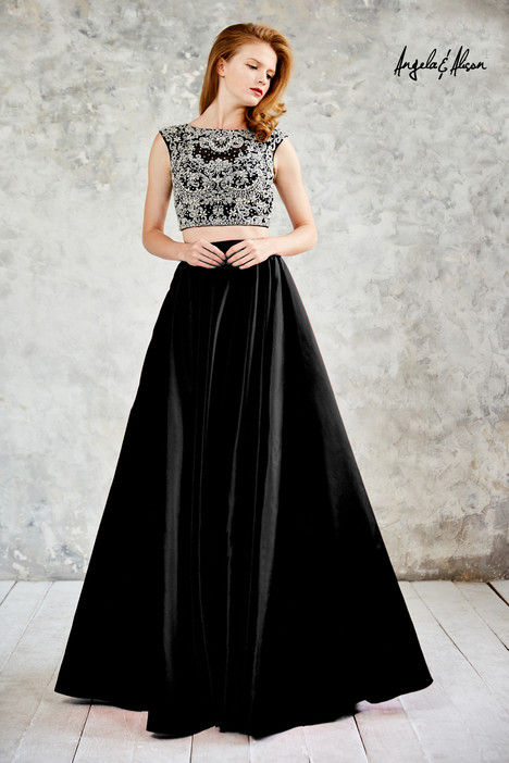 771109 (black) gown from the 2017 Angela & Alison Prom collection, as seen on dressfinder.ca