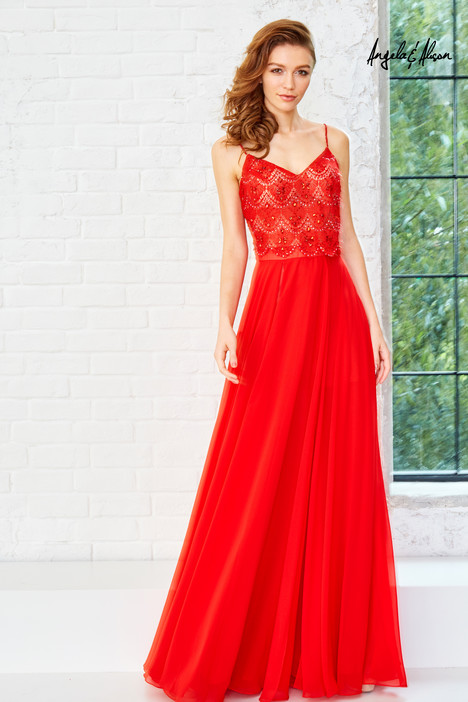 771117 (hot red) gown from the 2017 Angela & Alison Prom collection, as seen on dressfinder.ca