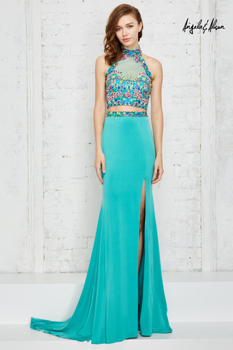 771124 (aqua) gown from the 2017 Angela & Alison Prom collection, as seen on dressfinder.ca