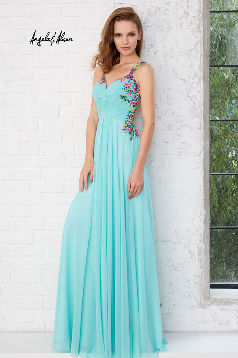 771141 (mint) Prom                                             dress by Angela & Alison Prom