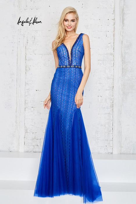 771142 (royal blue) gown from the 2017 Angela & Alison Prom collection, as seen on dressfinder.ca