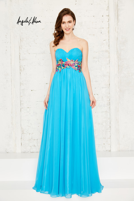 771143 (turquoise) gown from the 2017 Angela & Alison Prom collection, as seen on dressfinder.ca