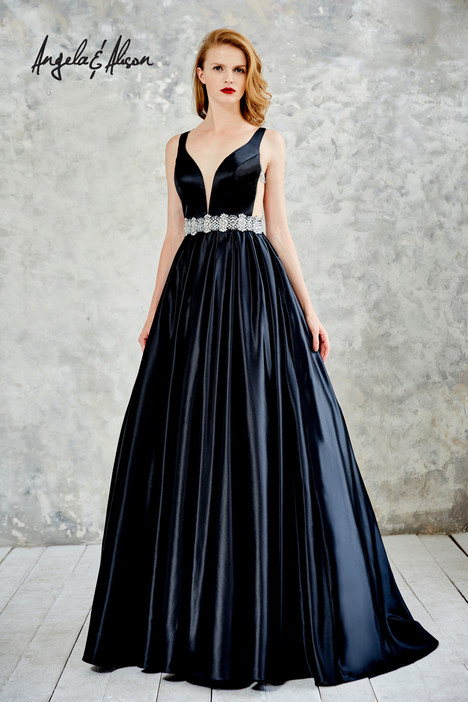 61021 (black) Prom                                             dress by Angela & Alison Prom