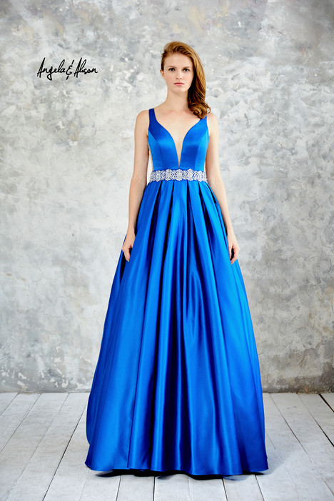 61021 (royal blue) Prom                                             dress by Angela & Alison Prom