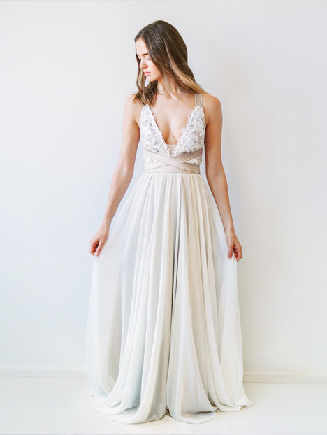 Carrall Wedding                                          dress by Truvelle