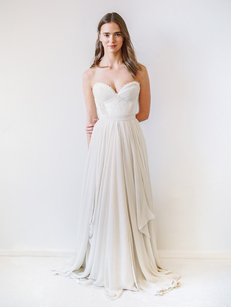 Powell Wedding                                          dress by Truvelle