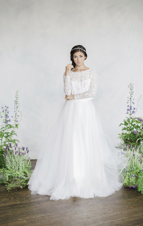 Chloe (top) + Danielle (skirt) Wedding dress by Pure Magnolia