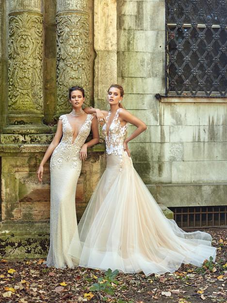 Lauren (right) Wedding                                          dress by Galia Lahav