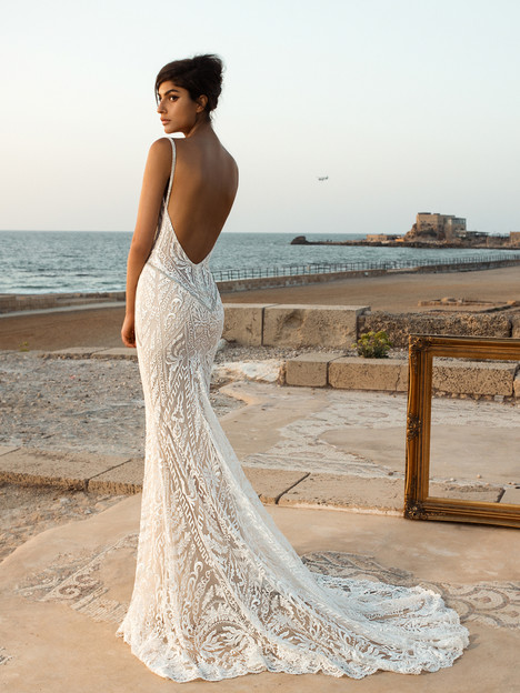 802 (back) Wedding                                          dress by GALA by Galia Lahav