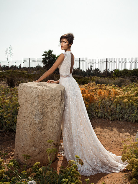 803 (back) Wedding                                          dress by GALA by Galia Lahav
