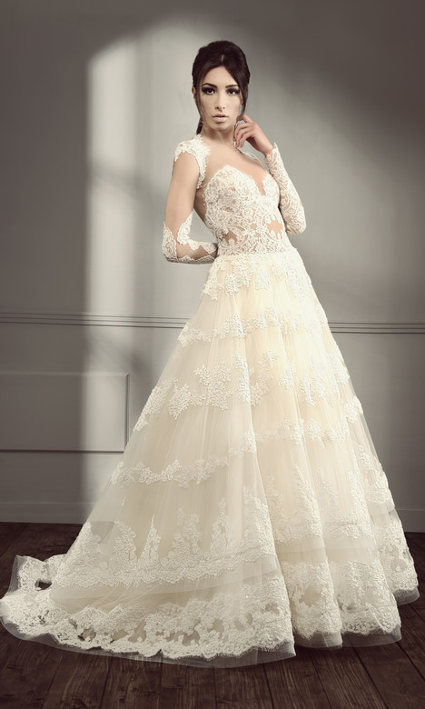 RS 5010 Wedding                                          dress by Regina Schrecker Sposa