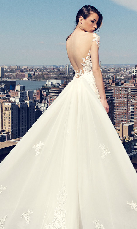 3656 (back) Wedding                                          dress by Regina Schrecker Sposa
