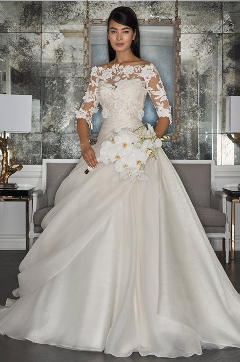RK7495 + RK7495 (top) Wedding                                          dress by Romona Keveza Collection
