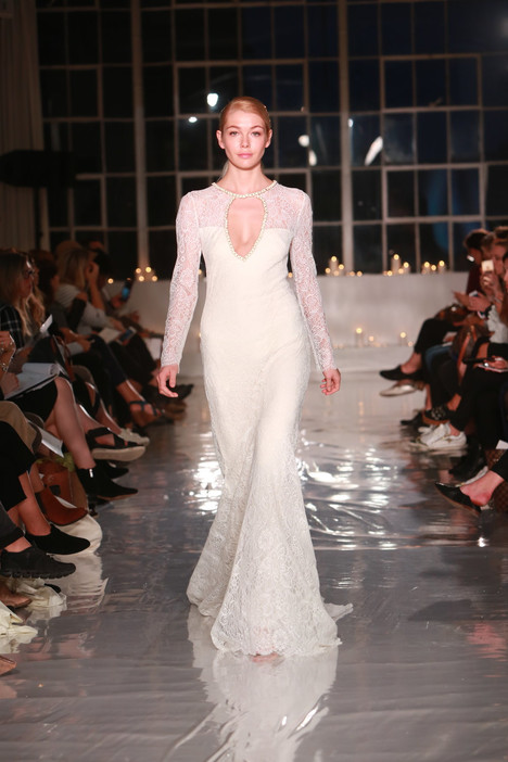 Lourdes Wedding                                          dress by Sarah Janks