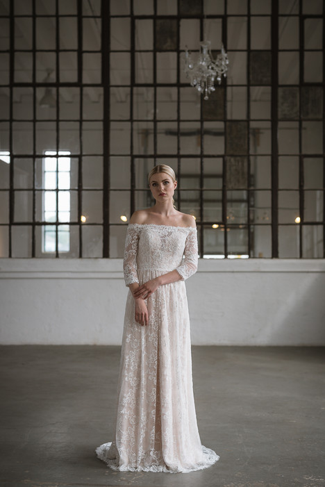 Ilyssa Wedding                                          dress by Lis Simon