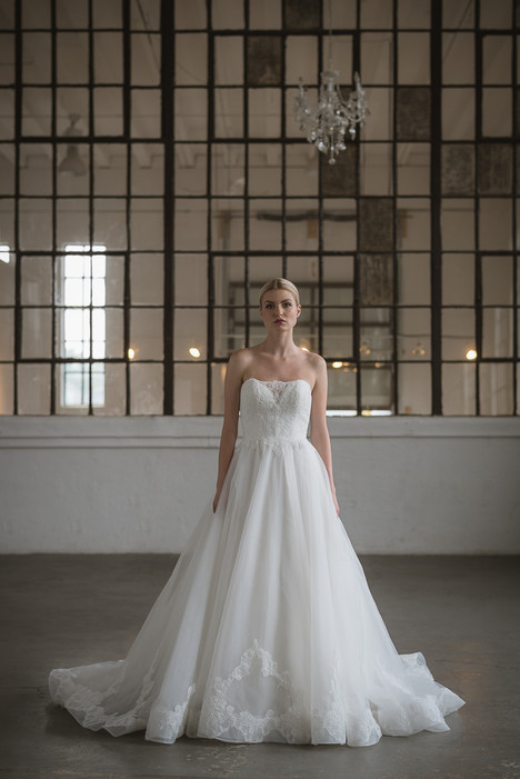 Inez Wedding                                          dress by Lis Simon