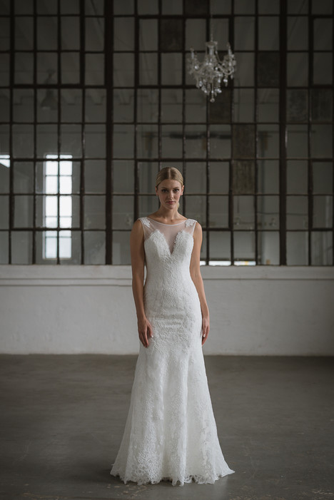 Isabel Wedding                                          dress by Lis Simon