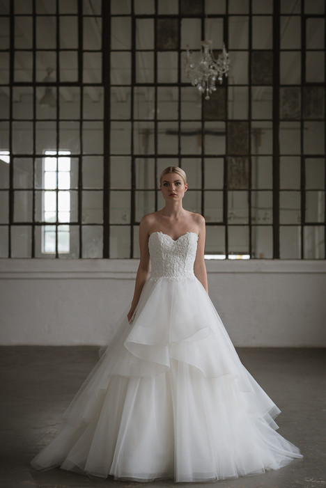 Ivette Wedding                                          dress by Lis Simon