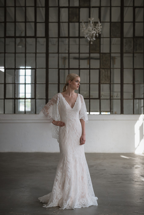 Izzy Wedding                                          dress by Lis Simon