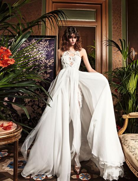 Draba Wedding                                          dress by YolanCris