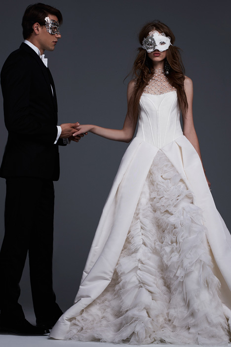 Evelina Wedding                                          dress by Vera Wang