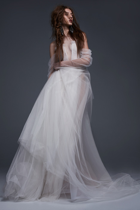 Felisa Wedding                                          dress by Vera Wang