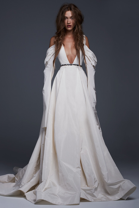 Viviana Wedding                                          dress by Vera Wang