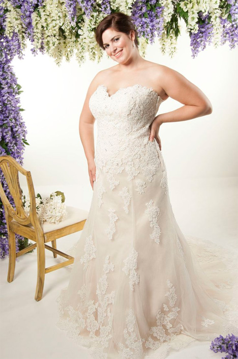 4260 Wedding                                          dress by Callista