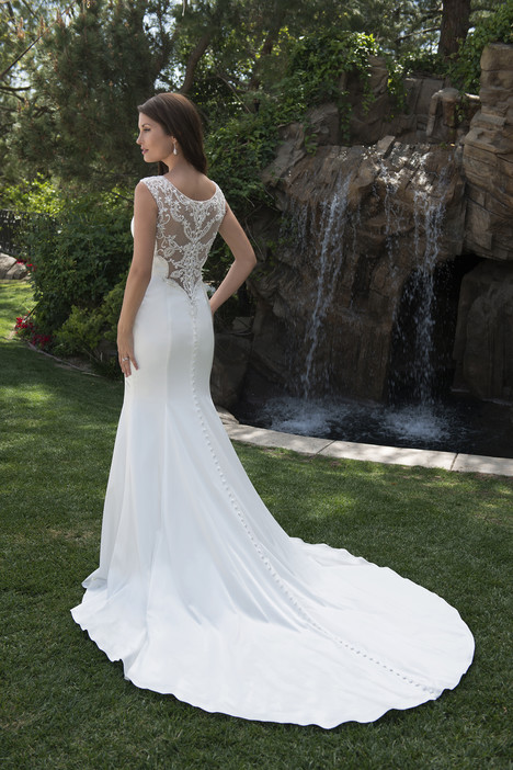 PA9264 (back) Wedding                                          dress by Venus Bridal: Pallas Athena