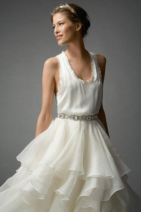 Asha (7024B) (top) Wedding                                          dress by Watters Brides
