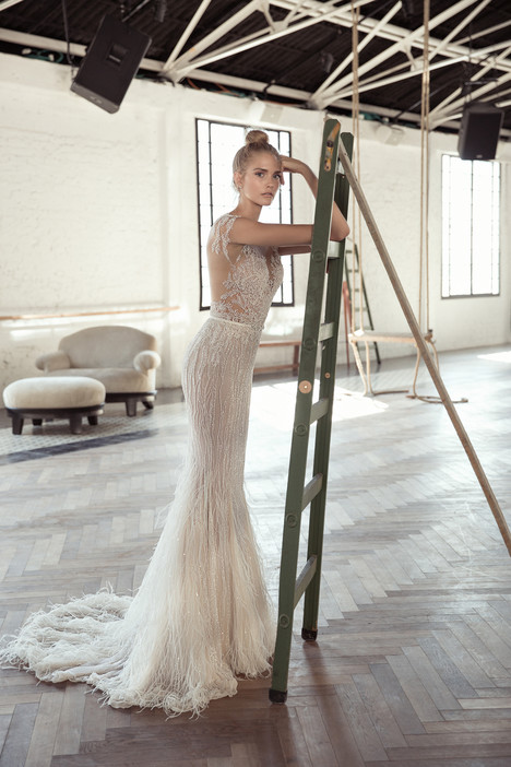 Arielle (back) Wedding                                          dress by Lee Petra Grebenau