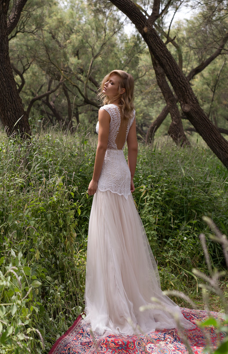 Eve (back) Wedding                                          dress by Limor Rosen
