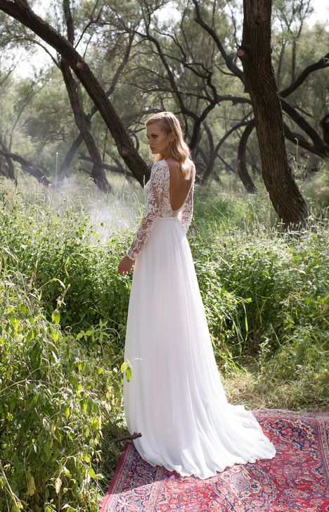 Kylie (back) Wedding                                          dress by Limor Rosen