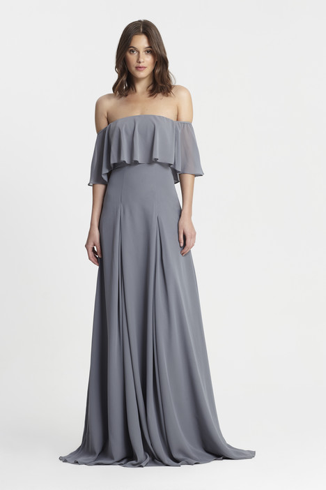 450384 (steel) gown from the 2017 Monique Lhuillier: Bridesmaids collection, as seen on dressfinder.ca