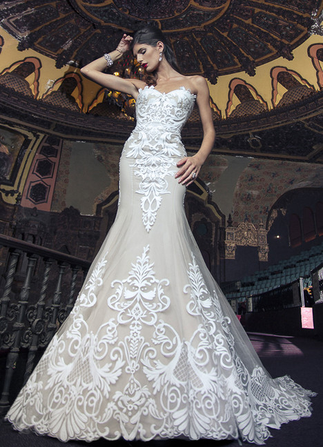 Edyta Wedding                                          dress by Yumi Katsura