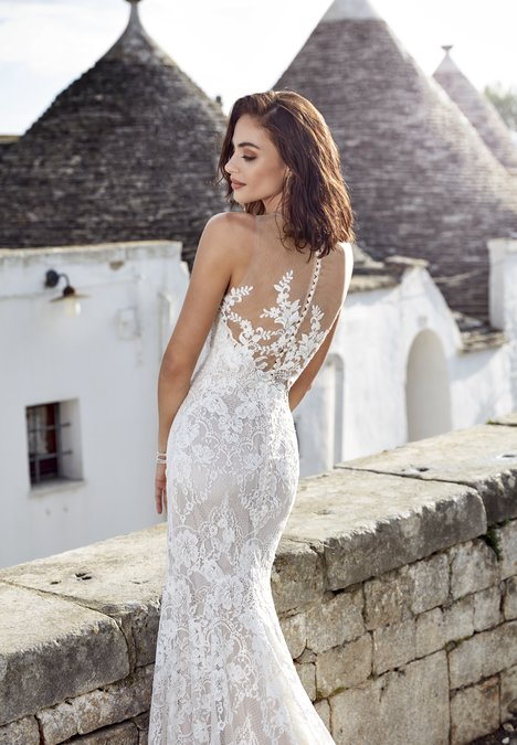 Adela (back) gown from the 2018 Eddy K Dreams collection, as seen on dressfinder.ca