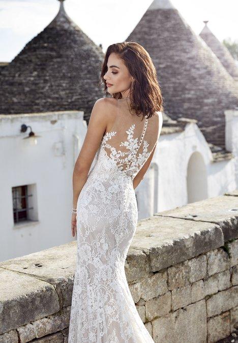 Adela (back) Wedding                                          dress by Eddy K Dreams