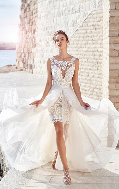 Claudia (+over skirt) Wedding                                          dress by Eddy K : Dreams