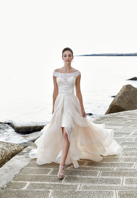 Piera (top) (2) Wedding dress by Eddy K Dreams
