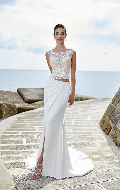 Raquel (top) Wedding dress by Eddy K Dreams