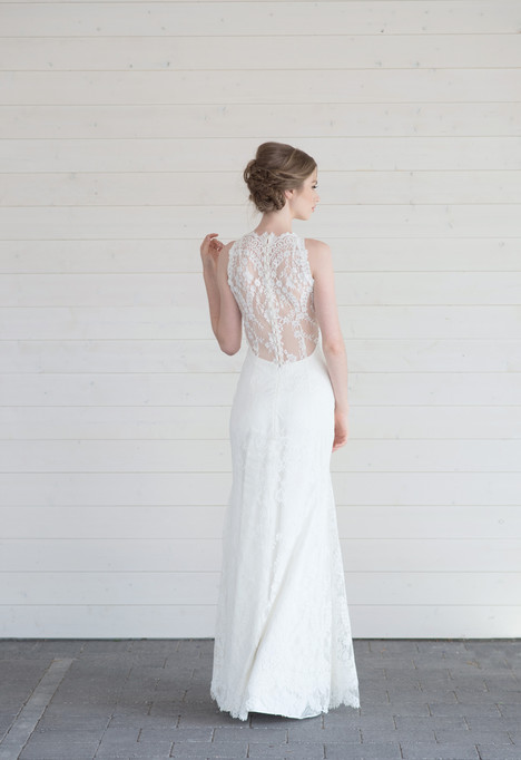 Alice (back) Wedding                                          dress by Lillian Wild