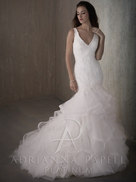 31015 Wedding                                          dress by Adrianna Papell