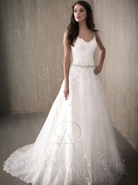 31019 Wedding                                          dress by Adrianna Papell