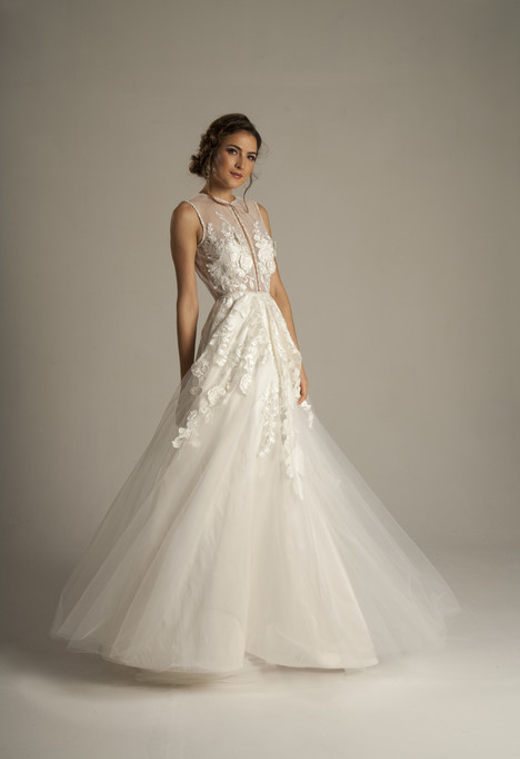 Gardenia (4055) Wedding                                          dress by Barbara Kavchok