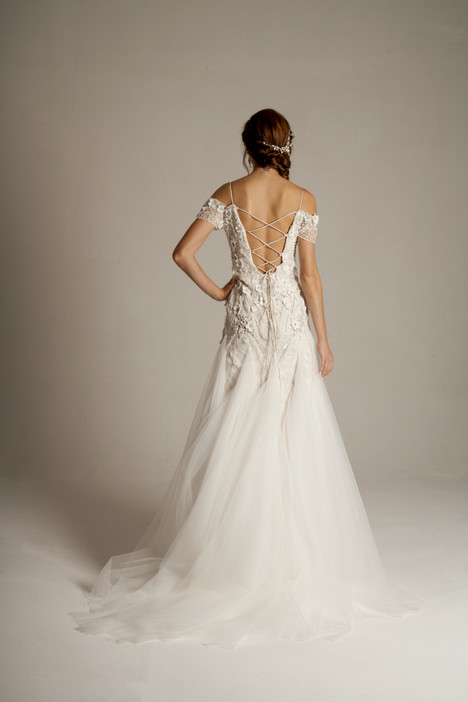 Lavina (4051) (back) Wedding                                          dress by Barbara Kavchok