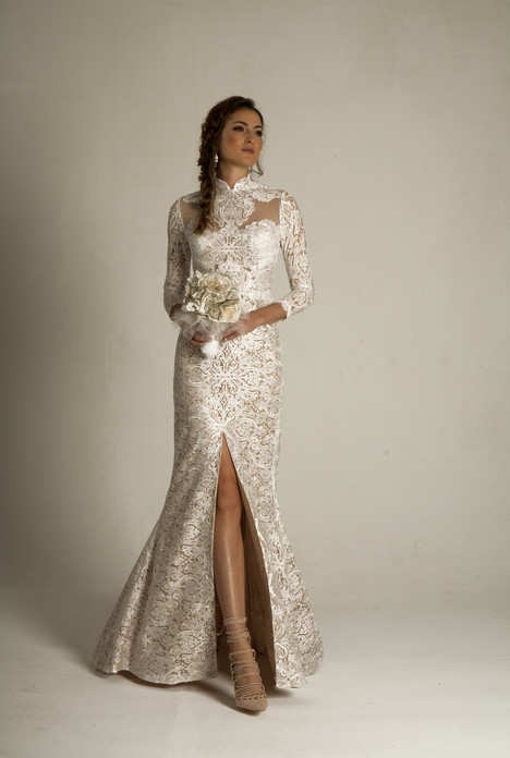 Leonora (4054) Wedding                                          dress by Barbara Kavchok